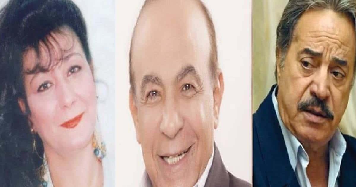 يوسف شعبان وهادي الجيار و أحلام الجريتلي